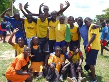 Wobulenzi students - full of energy and enthusiasm!