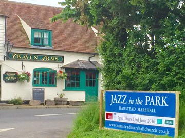 Thank you to the Craven Arms for their support of 'Jazz in the Park'