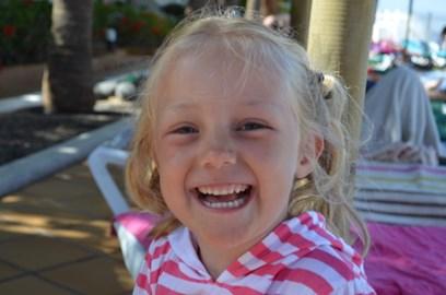 Matilda enjoying her Holiday