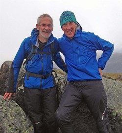 On top with Gerry