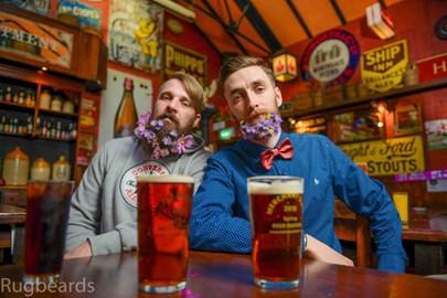 A couple of pints in the Merchants Inn