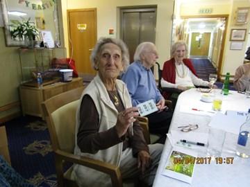 Jeanne one of a £100 raffle winners