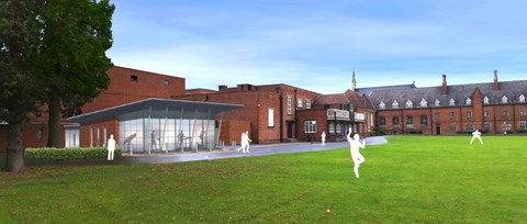 An artist's impression of the Fitness Suite (external)