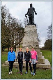 After Wythenshawe parkrun on 32 March 2018