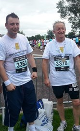 SuperDAD's at the finish!