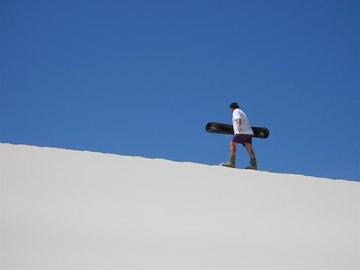 ......sandboarding!