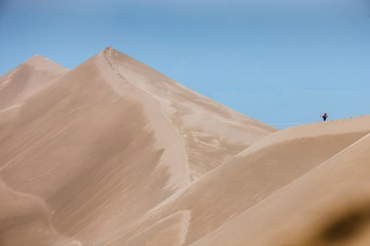 Now that's what I call a sand dune!