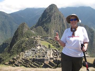 I made it to Machu Picchu