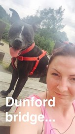 in training running to Dunford Bridge and back - HOT!!!