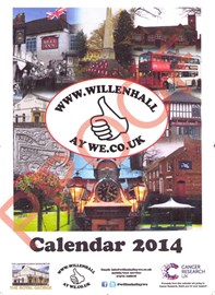 Our Calender - £5 ALL PROCEEDS TO Cancer Research x