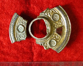 The Eastry Brooch. You may have seen this somewhere before...