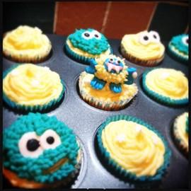 Yeti Cupcakes!