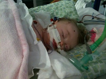 Feb 2010, Alice contracted meningitis