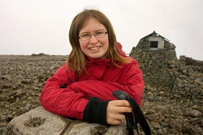 Me on the summit of Ben Nevis