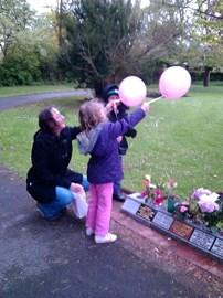 Ballons for Grandma