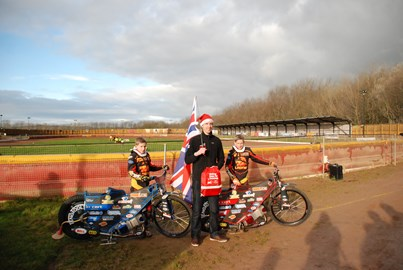 Thompson Twins at the Leicester Speedway