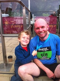 just completed the Great Yorkshire run