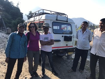 Joannie Conquers Himalayas!