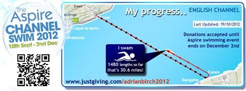 Swim no 18 - 30.6 miles