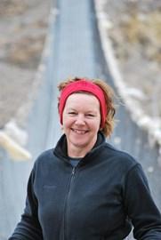 Linda in her beloved Nepal 2010