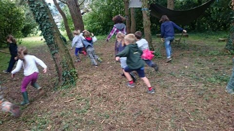 Grants have been used for forest school sites