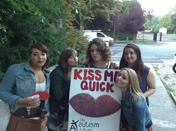 Kiss Me Quick Kissing Booth!