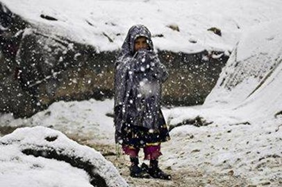 Syria - Refugees - Child in Snow. Pure Matrimony shared Ziad Khilleh's photo