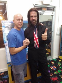 Billy Mitchell, the first 'perfect' Pac Man player