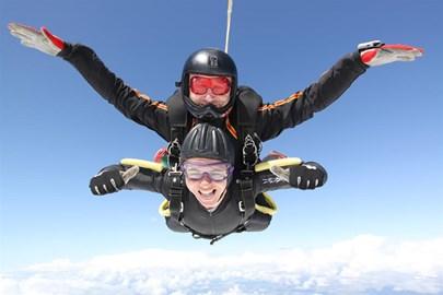 Infinite skydiving