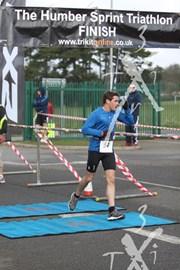 Humber Sprint Triathlon: Finish