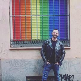Steven at Mr Leather Spain 2018