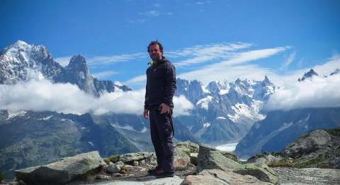 Jon Marc, Chamonix, Sept 2010