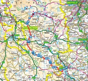 The route from Matlock to Castleton