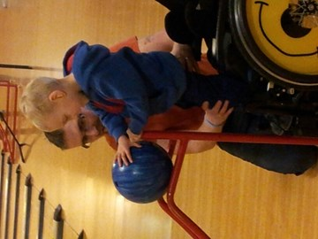 tom bowling for the 1st time
