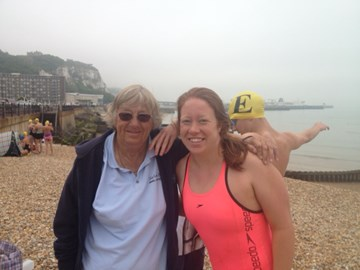 Freda - the Dover swimming coach/hero