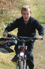 Bike riding in the Forest of Dean 2009