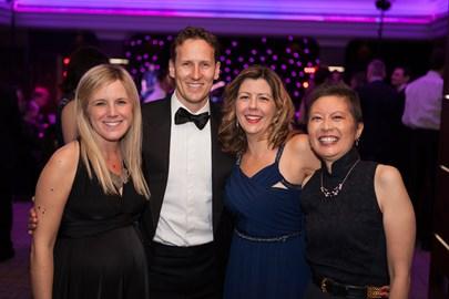 Jodi CEO, Lucy & Jessica with host Brendan Cole