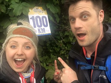 Reaching the 100KM marker