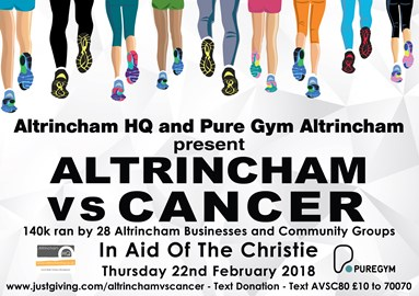 Altrincham VS Cancer 2018