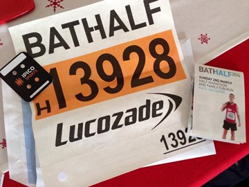 My race number!