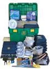 The contents of a Shelterbox