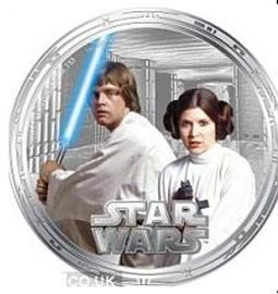 Luke Skywalker and Princess Leia