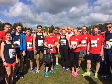 Before the Oxford Town & Gown 10k Race