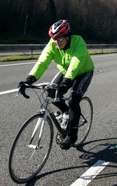 Me, Newport Training Ride 23rd March 2013