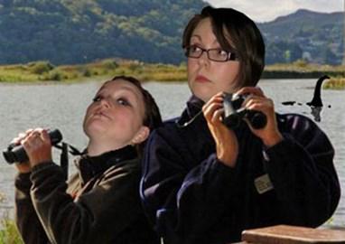Nessie-hunters extraordinaire...