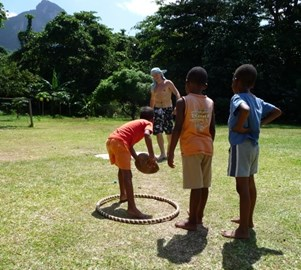Fun and games at Creole Day on Feb 17