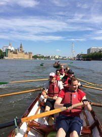 Rowing from Westminster