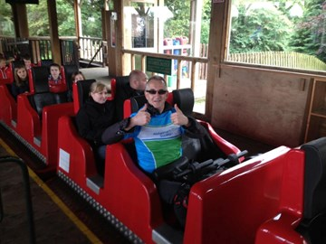 Riding The Ultimate at Lightwater Valley