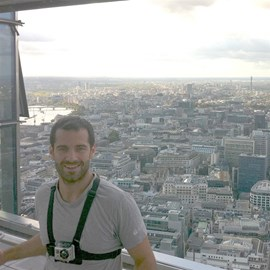 View from the top of Heron Tower