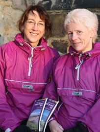 Judy and Gail – sponsored by Paramo!